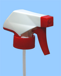 red white trigger sprayers